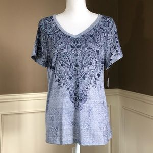 NWT Plus Size V-Neck T-Shirt by Style & Co.